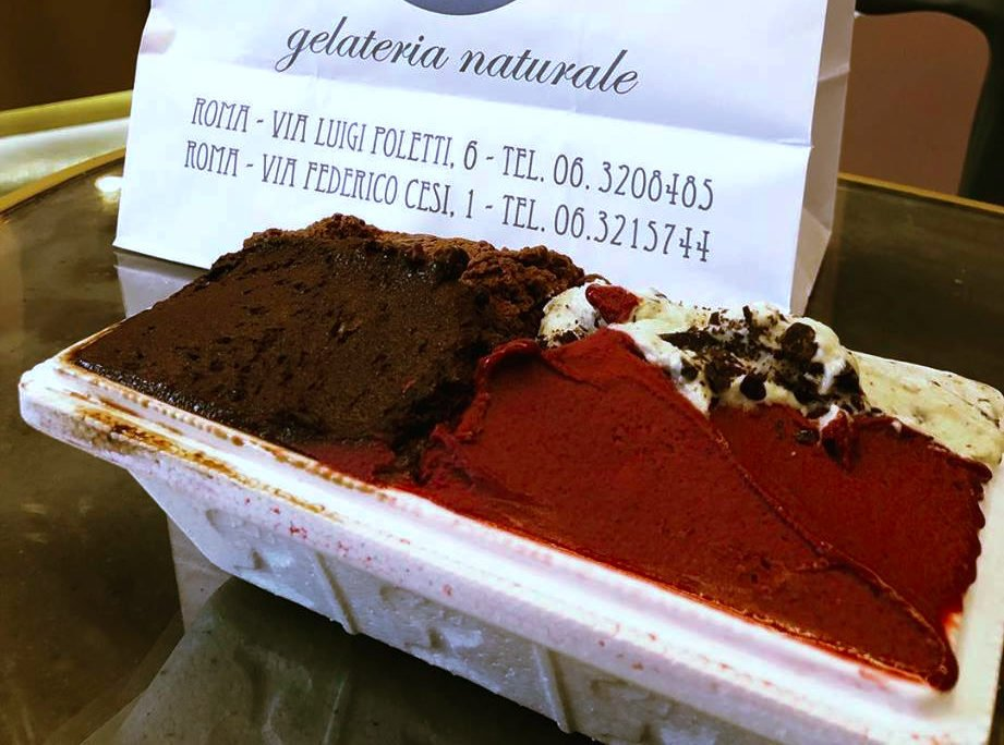 guide local desserts sweets gelato Rome Italy