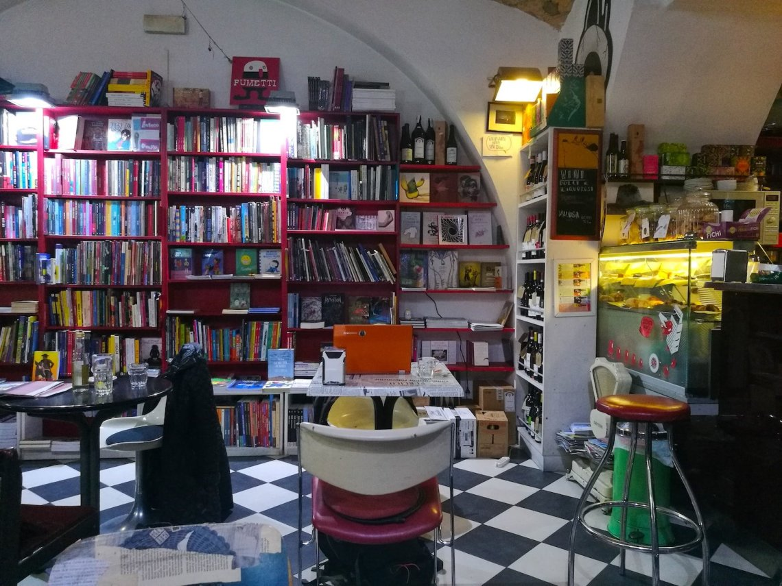 best cafes to sit work Rome Italy