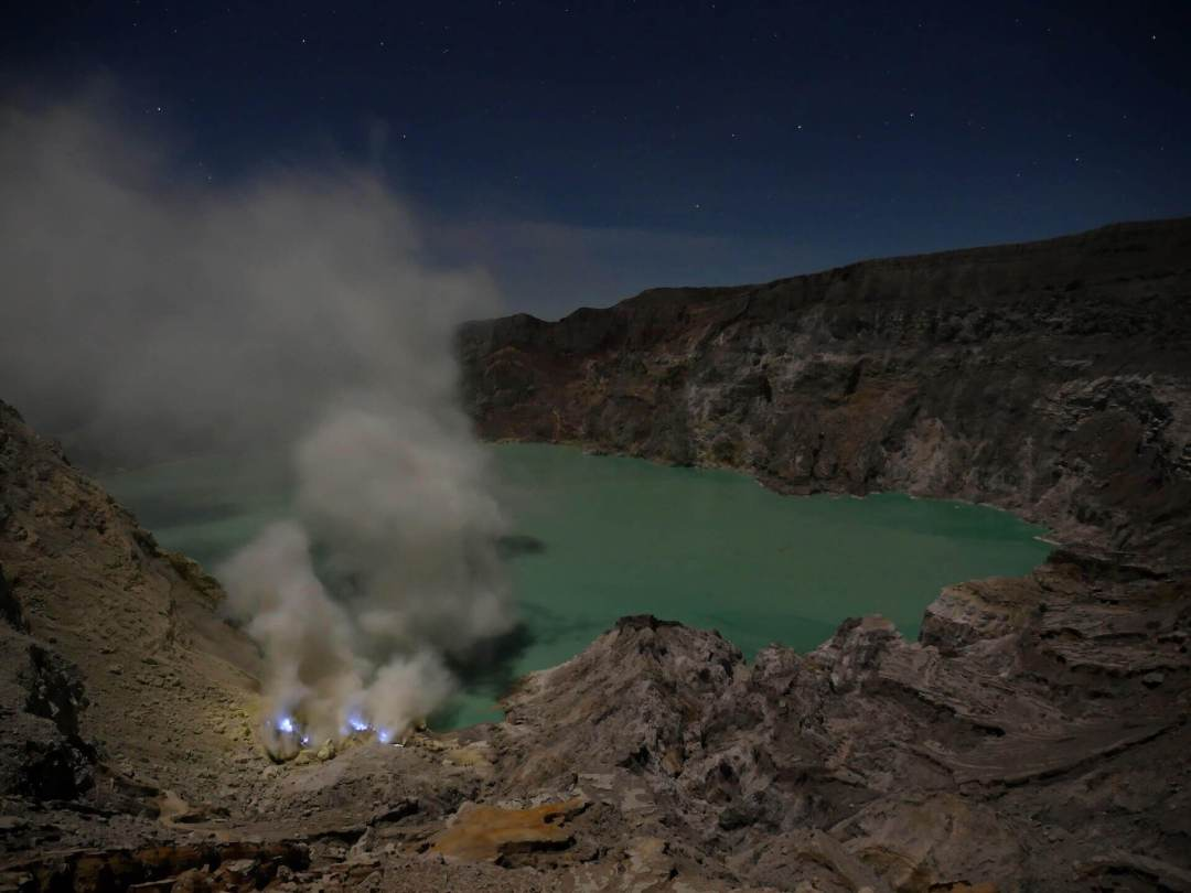 where to go in indonesia volcano