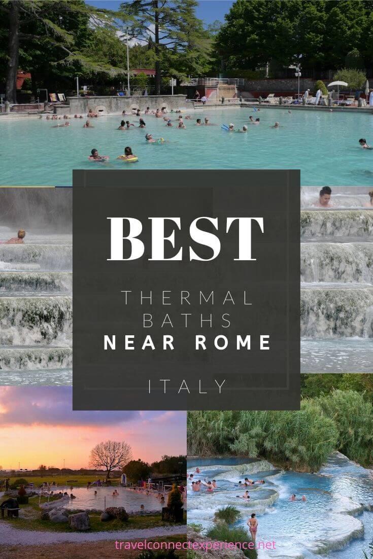 hot springs near rome italy pinterest