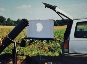 Viewing a Total Eclipse Safely
