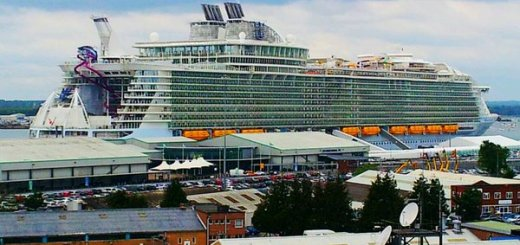 Harmony of the Seas , City Terminal, Southampton