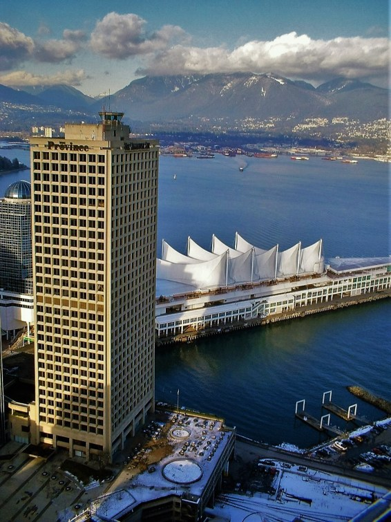 Vancouver from the Lookout Tower