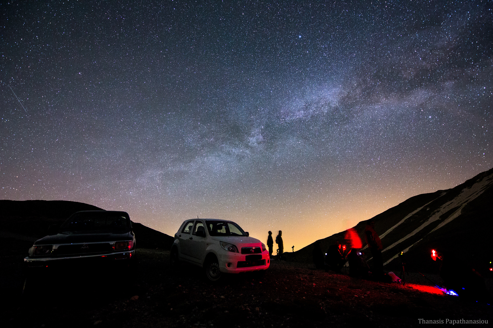 Stargazing photo by Thanasis Papathanaslou