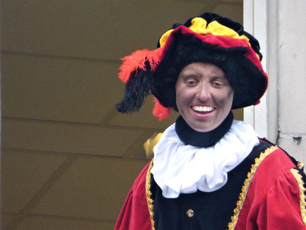 Zwarte Piet in Utrecht, 2016