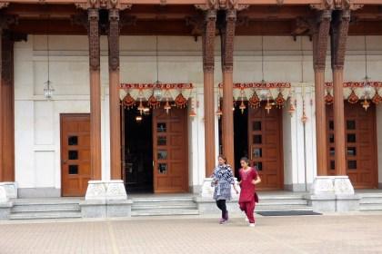 Neasden Temple Haveli BAPS Swaminarayan Mandir