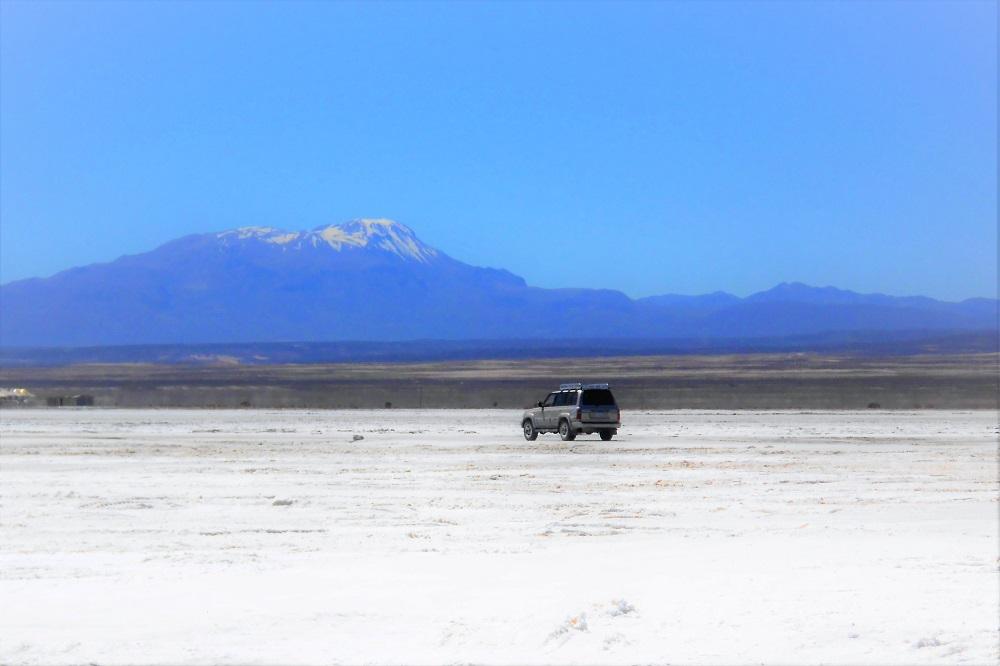 From the Salar de Uyuni towards Eduardo Avaroa National Resserve