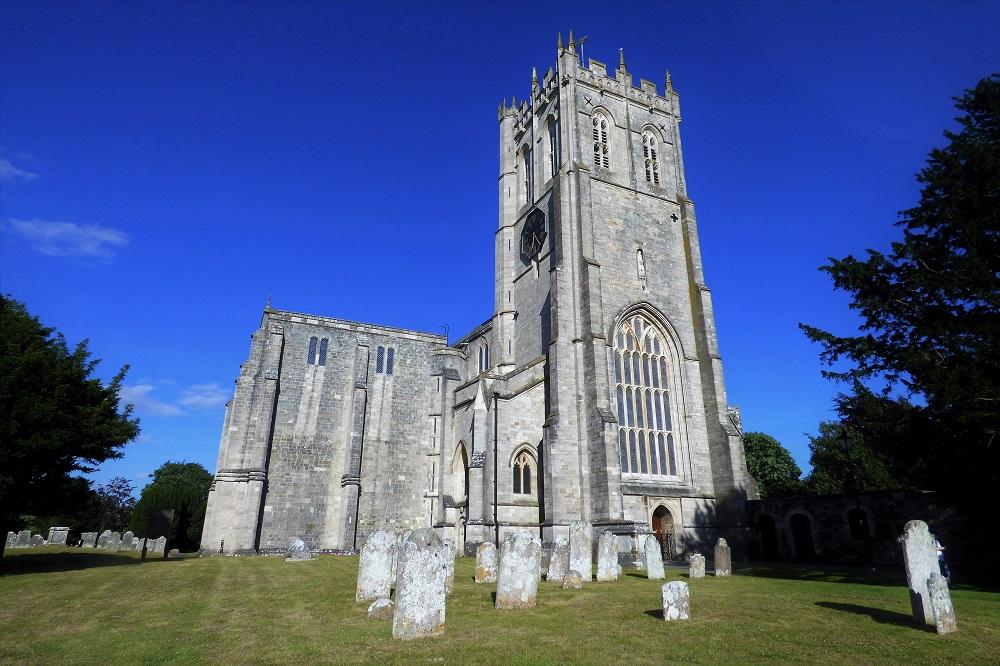 Christchurch Priory in Dorset
