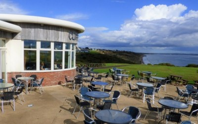Food with a View at the Cliffhanger Café in Highcliffe-on-Sea, Dorset