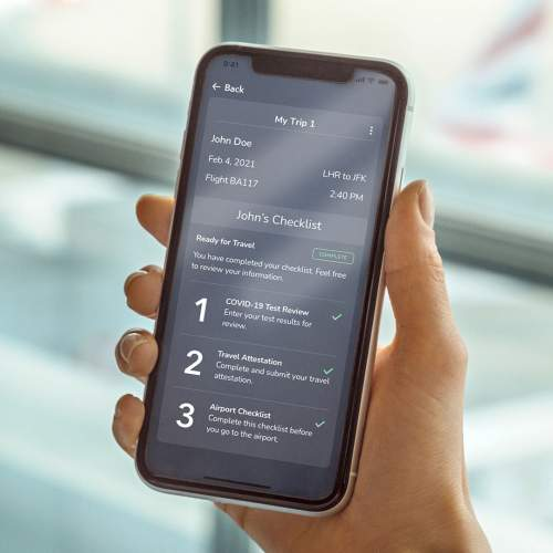 British Airways Extends Successful Trial Of Digital Health Pass Verifly