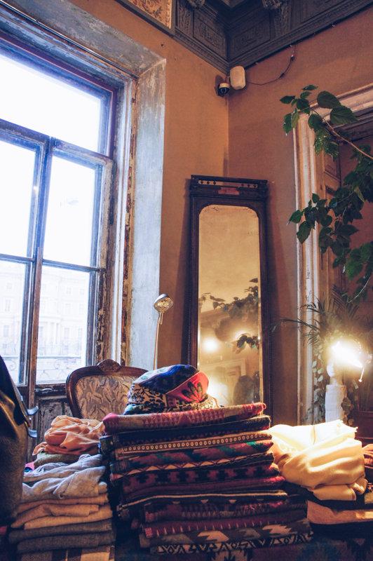 Golitsyn Loft hosts designer markets in St. Petersburg, Russia