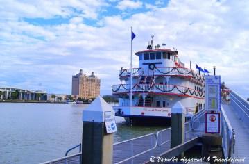Cruise ship, Savannah River