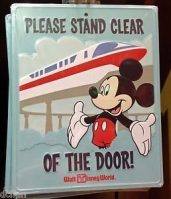 Please Stand Clear of the Door Sign