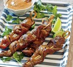 RECIPES – Disneyland Hotel – Special Events – Beef Sate with Peanut Sauce