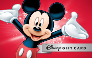 TADA Mickey Disney Gift Card