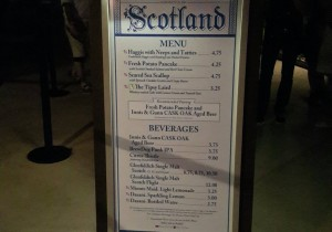 F&W2015 Scotland Menu