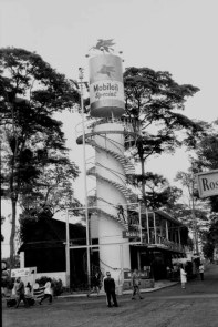 MOBIL OIL STAND AT THE ROYAL SHOW (CHANGED TO THE AGRICULTURE SHOW AFTER INDEPENDENCE)