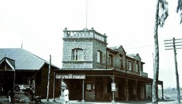 THE EAST AFRICAN STANDARD BUILDING IN THE 1920's At the forefront of the early pioneers was A.M. Jeevanjee, who established Kenya's first newspaper now known as the The Standard.