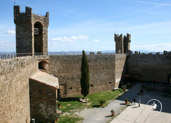 Itinerario in Val d'Orcia, Montalcino