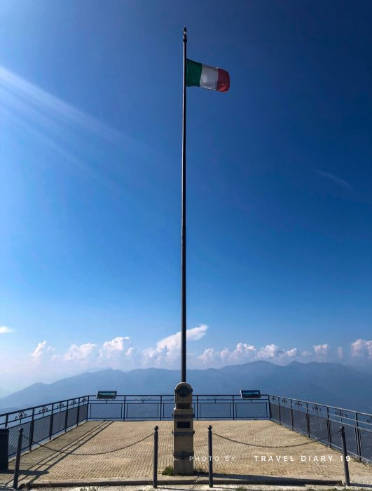 Una domenica sul Balcone d'Italia, Sighignola