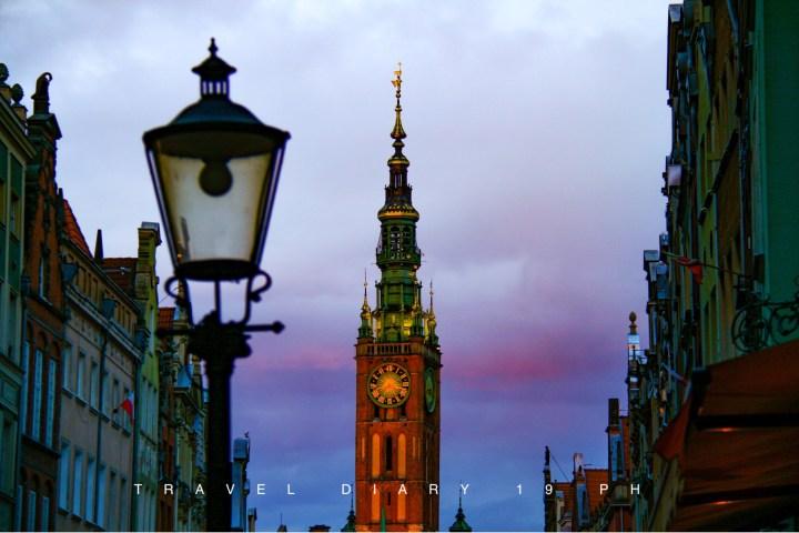 Torre dell'orologio di Danzica, Gdansk