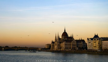 A Budapest, durante il free walking tour