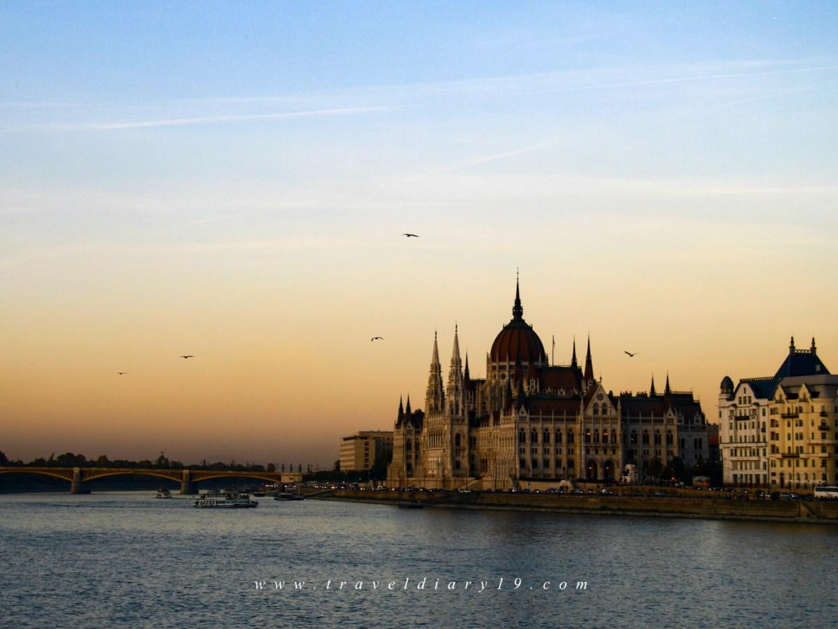 A Budapest, durante il free walking tour