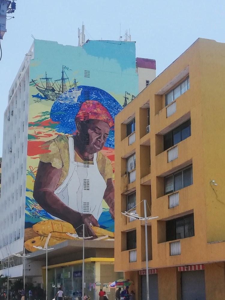 murales a Medellin, Colombia