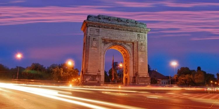 Arco di Trionfo, a Bucarest