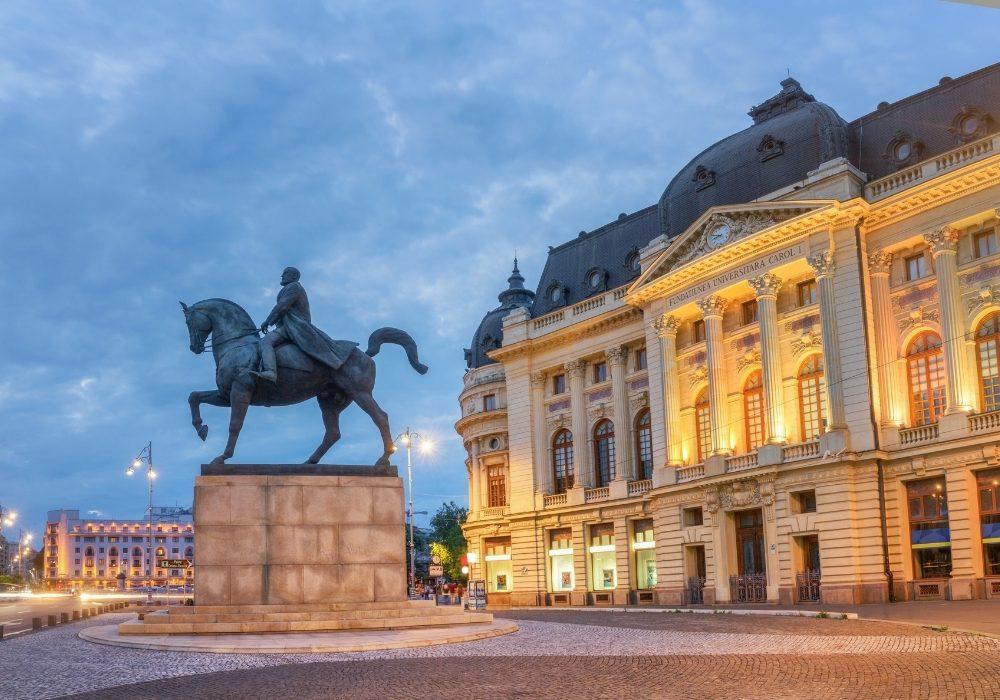 Piazza dell'Ateneo di Bucarest