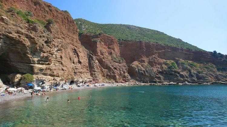 Una spiaggia di Khytira