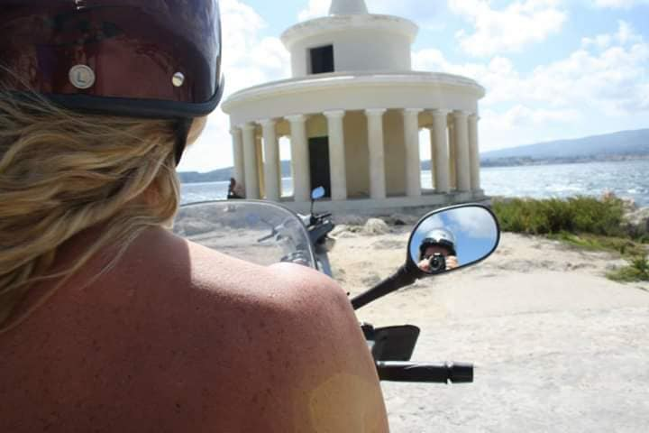 A Cefalonia in moto