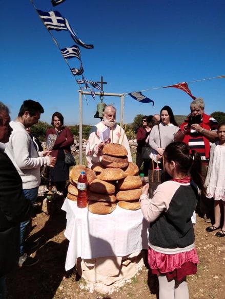 Bere e mangiare durante le festività a Naxos