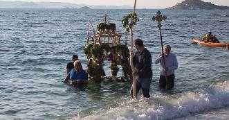 Naxos, durante le festività
