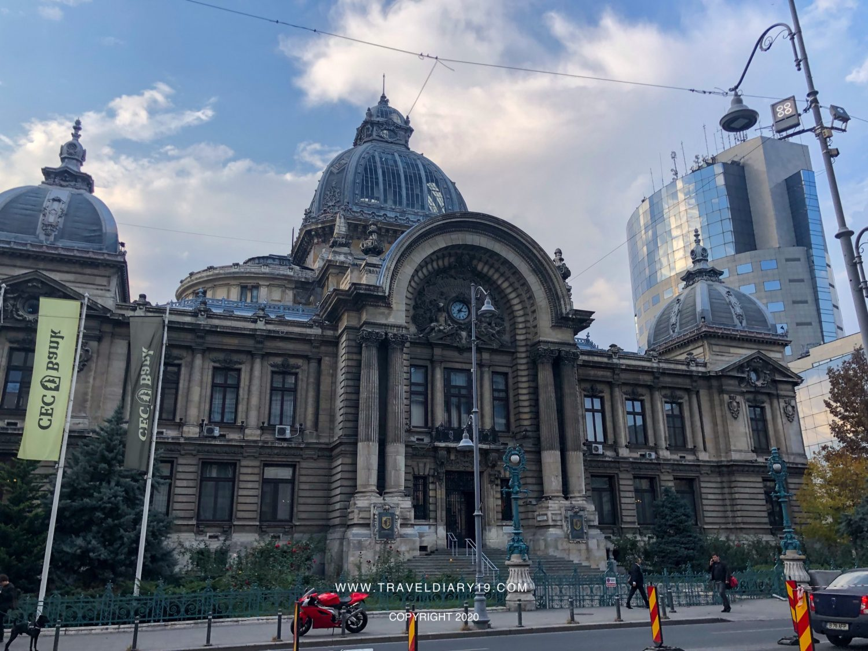Palazzo del centro di Bucarest