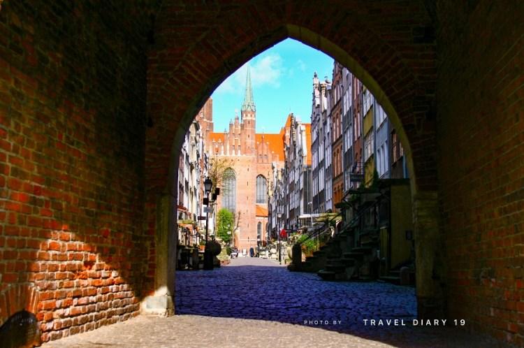 Danzica, centro storico