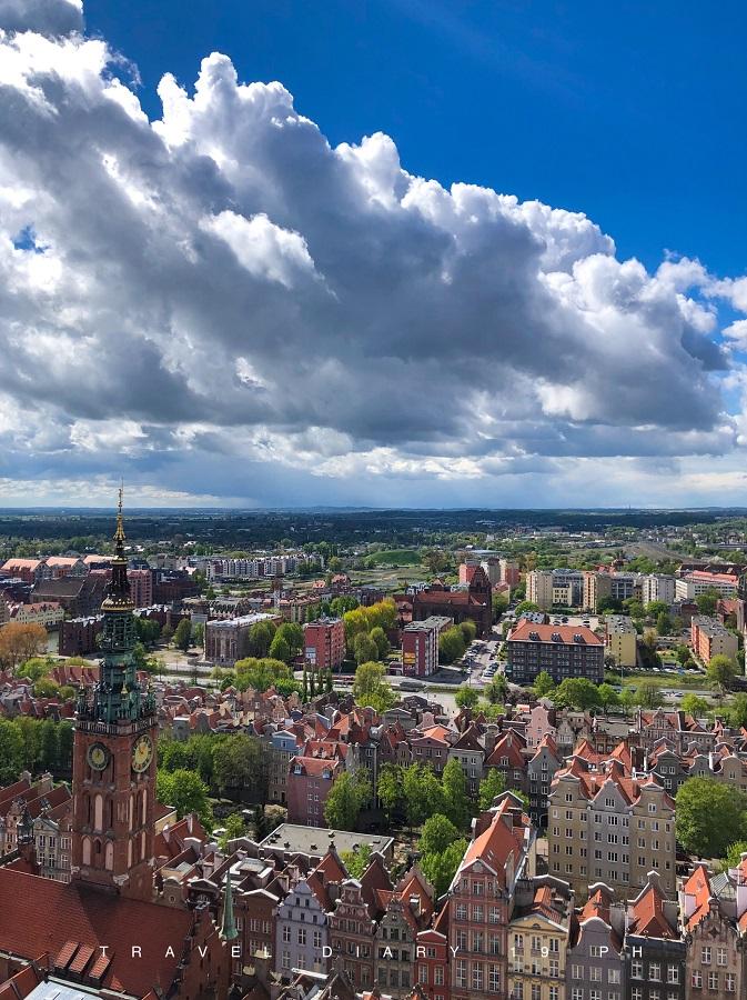 Danzica, panorama della città