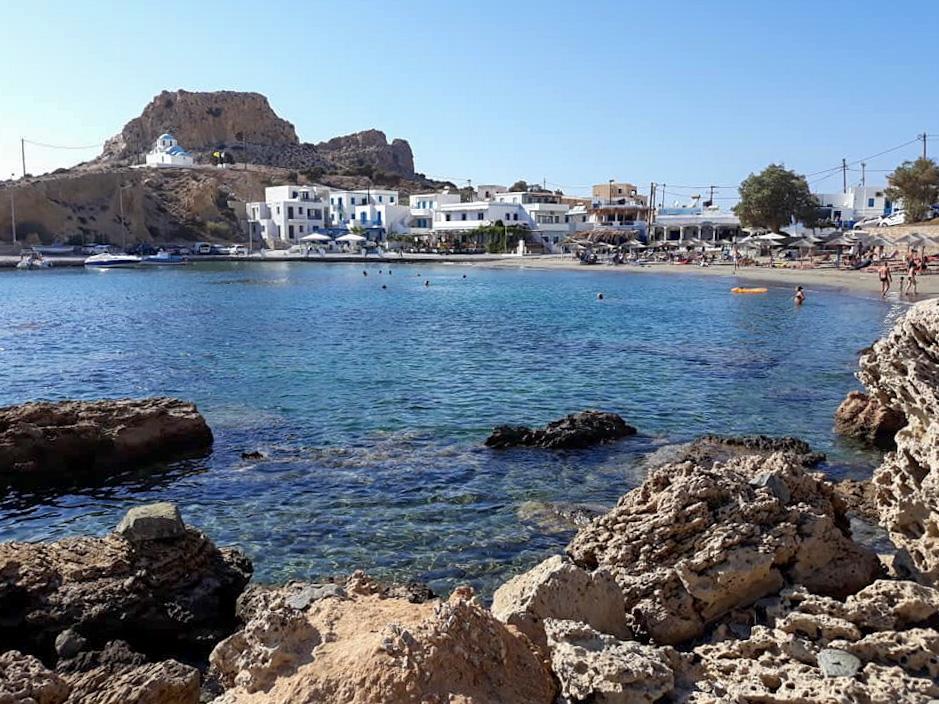 Spiaggia di Karpathos nel Dodecanneso