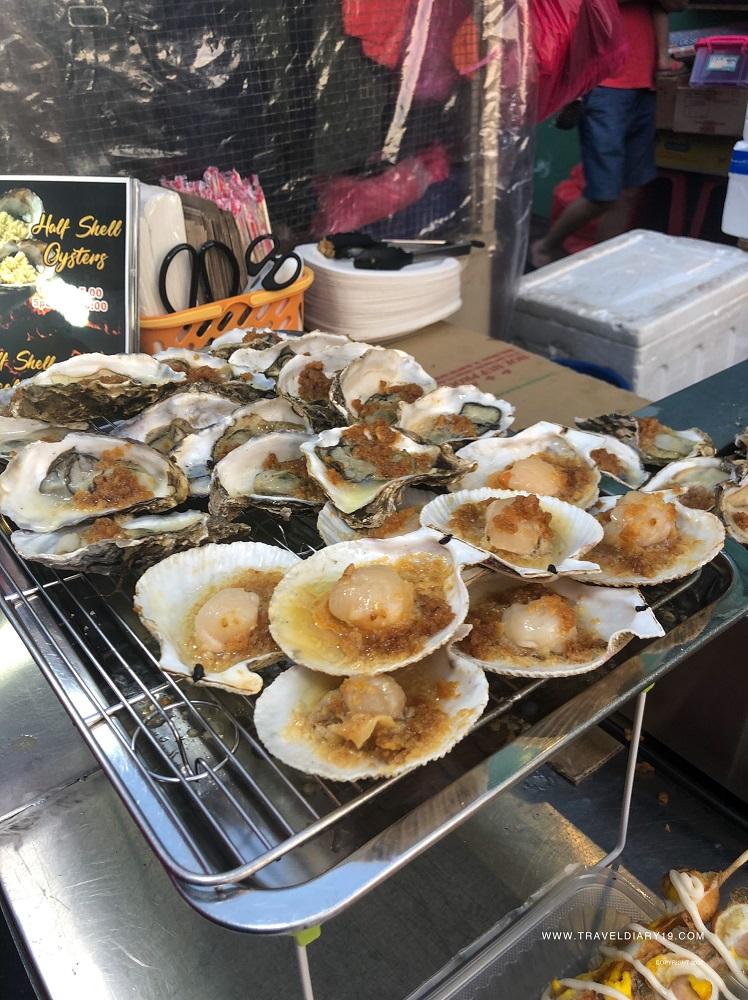 Street food in Malacca