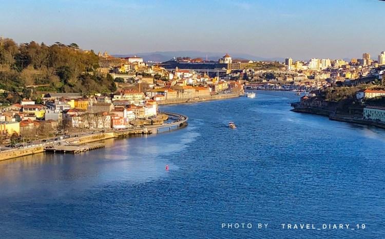 fiume Douro a Porto