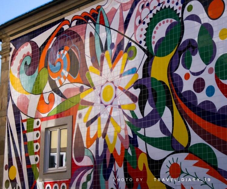 Murales a Porto