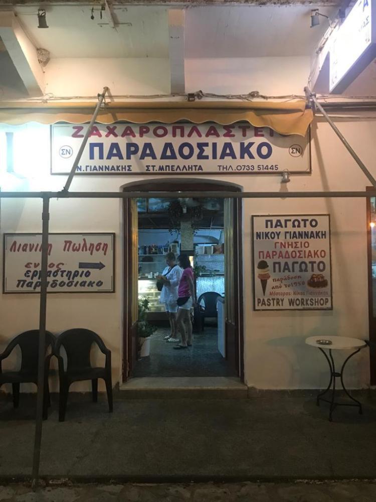Il periplo del Peloponneso, Grecia
