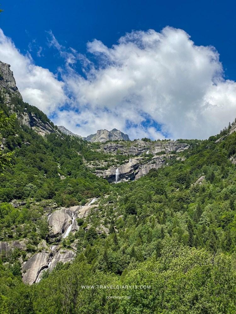 Val di Mello, Cascata