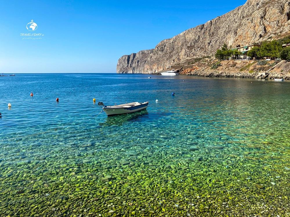 Gerolimenas, piccolo porto nel Mani, Grecia