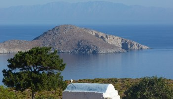 Orizzonte di Tilos nel Dodecaneso