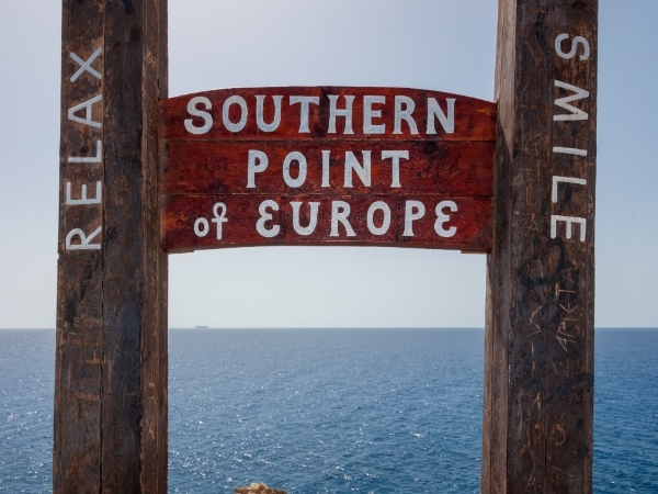 Punto più a sud di Europa