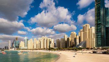 Skyline di Dubai, viaggiare ai tempi del Covid 2021