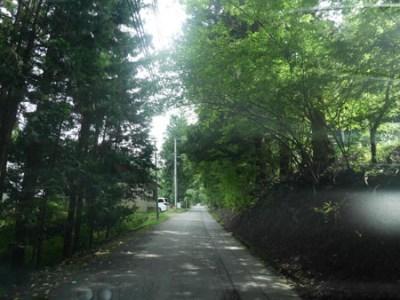 山梨県道志村へ