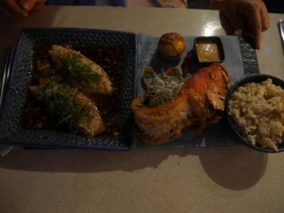 焼き魚定食的な