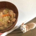 我が家の手作りレシピ。味噌汁ついでに定番ごはん。プレーン編
